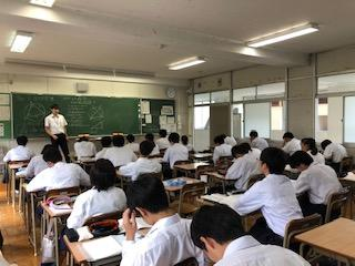 教育実習生も頑張っています!
