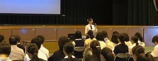 授業公開と学校説明会を実施しました。