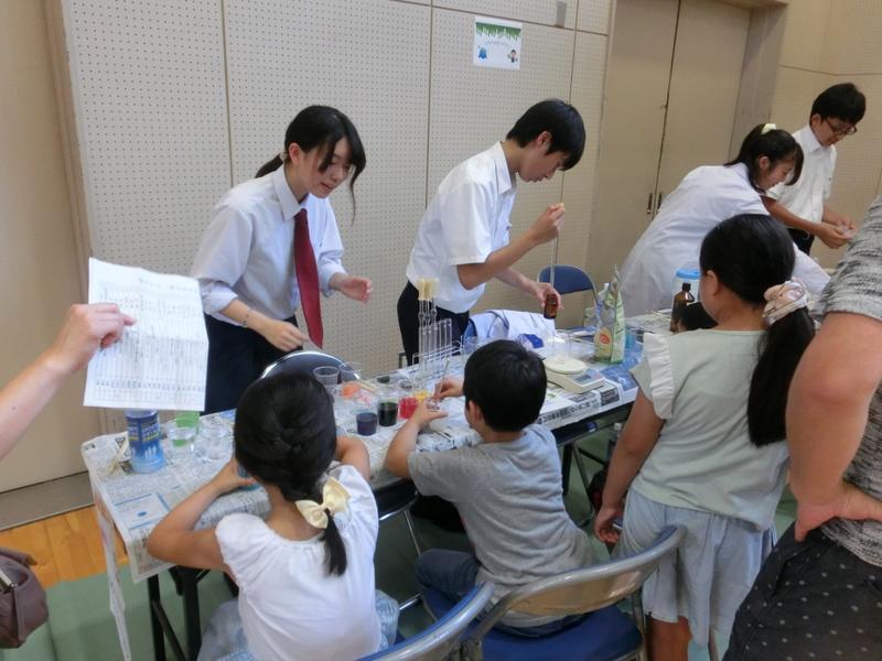 自然科学部|化学班の活躍が記事に!